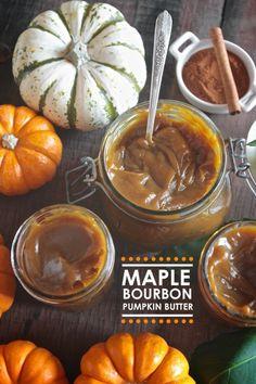Maple Bourbon Pumpkin Butter