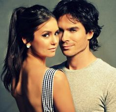 Nina Dobrev and Ian Somerhalder Picture from The Vampire Diaries. In real life! Serie The Vampire Diaries, Vampire Diaries Damon, Vampire Diaries The Originals, Damon Salvatore, Nikki Reed, Nina Dobrev, Ian E Nina, Louisiana, Ian Somerhalder Vampire Diaries