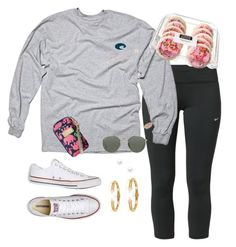 """""""•Wildest Dreams•"""" by ellaluellaa ❤ liked on Polyvore featuring NIKE, Belpearl, Converse, Vita Fede, Ray-Ban, Lilly Pulitzer, Kendra Scott, women's clothing, women and female"""