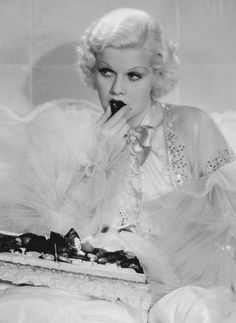 Jean Harlow in Dinner at Eight, 1933
