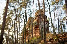 Römerfels bei Dahn, tolle Aussicht! - Römerfels (Romans rock) close to Dahn, great outlook