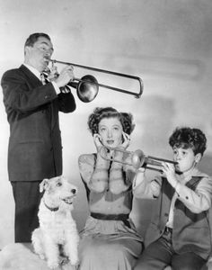 From Song of the Thin Man (1947) with Myrna Loy, William Powell and our beloved Asta