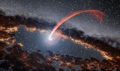 Echoes detected from dying stars destroyed by supermassive black holes