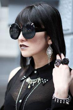 La moda en tu cabello: Moda Gótica - La nueva tendencia en Peinados góticos ¡Atrévete!
