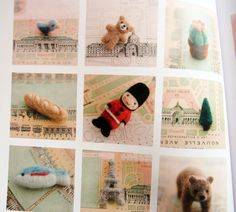 9784529048460 small world trip-encircled by felted wool--japanese craft book, via Flickr.