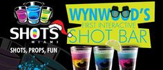 """Shots! Shots! Shots!  Art Basel may be over, but there are still plenty of reasons to hit up the Wood. This new bar in Wynwood takes the concept of """"drinking games"""" to a whole other level.  Check out the rest right here...  http://www.inthescenemiami.com/shots-shots-shots/"""