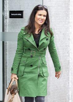 Susanna Reid Photos Photos - Susanna Reid leaves the ITV Studios. - Susanna Reid at the ITV Studios Susanna Reid, Christina Milian, Studios, Cinema, Beautiful Women, Leaves, Film, Coat, Green
