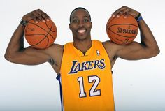 Dwight Howard of the L.A. Lakers photographed by Noah Graham (2012)