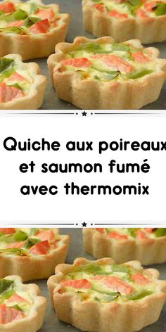 Leek and smoked salmon quiche with thermomix - thermomix smoked salmon leek quiche to accompany your dishes here is an easy delight to make quiche - Smoked Salmon Quiche, Leek Quiche, Number Cakes, Vegan Breakfast Recipes, Tupperware, Sushi, Food And Drink, Dishes, Cooking