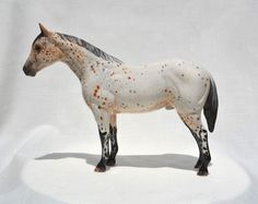TR QH Splashy Appaloosa Quarter Horse Ceramic China Figurine #MegWalkerOriginals Appaloosa, Originals, China, Horses, Ceramics, Animals, Hall Pottery, Animales, Pottery