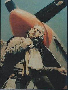 """Herschel H Green, P-51 fighter Pilot Ace, flew with the 325th fighter group, """"Checktail Clan."""" He flew P-40s, P-47s also. Grounded after 18 aerial victories.  He was the leading Ace of the 15th Air Force.  Highly recommend this book: """"Herky!, The memoirs of a Checkertail Ace.""""  Many great pictures too."""