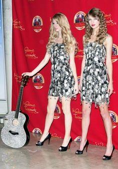 Taylor Swifts wax double