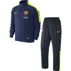 Nike FC Barcelona Dry Squad Trainingspak Ghost GroenGhost GroenGame Royal