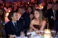 David Lauren, son of designer Ralph Lauren, and Lauren Bush Lauren, niece of President George W. Bush and grand daughter of President George HW Bush at the World of Children Awards 16th Awards Ceremony where co-founder and Chief of FEED projects Lauren Bush Lauren received the 2013 World of Children Board of Governor's Award.