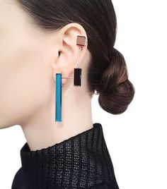 Sylvio Giardina Seven 7 Mono Earrings