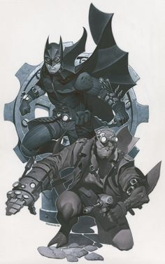 Batman & Hellboy