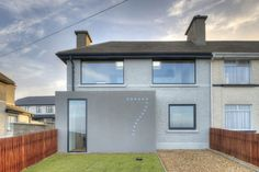 Shomera House Extension Front Skerries