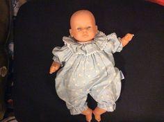 Magnifique Poupon bébé Bonheur cigogne COROLLE 30 cm collector 1998 rare!!!