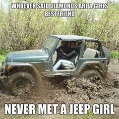 A Jeep is a girl's best friend
