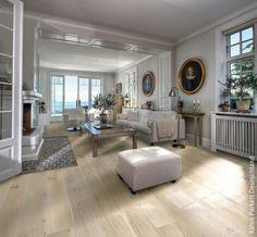 landhaudiele parkett eiche wei rustikal aufgrund ihrer lnge und breite vermitteln die dielen eleganz - Fliesen Holzoptik Wohnzimmer Hell