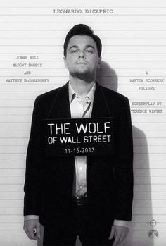 The Wolf of Wallstreet Congrats Leo finally one an award!