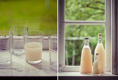Old school rhubarb soft drink