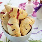 Elmalı ve vişneli mini çörek
