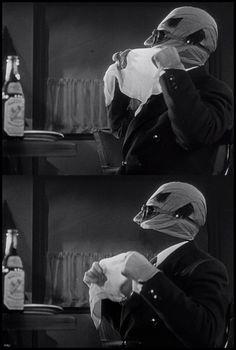 Claude Rains - The Invisible Man (1933)
