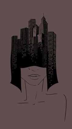 Wallpaper / lockscreen / girl /  art