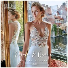 || Solo Merav || Emma and Grace Bridal || Denver Colorado Bridal Shop || #solomerav #bride emmaandgracebridal.com #denverbride #coloradobride  #bride #bridal #wedding #weddingdress #weddinggown #instabride #weddingplaner #fashion #chic #debut #bridalcouture #detalis #lace