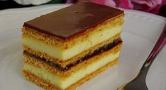 Slovak Recipes, Czech Recipes, Ethnic Recipes, Romanian Food, Eclairs, Lunch Snacks, Food Hacks, Sweet Recipes, Tiramisu