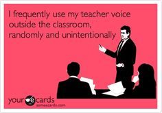 """My husband says I need to stop """"Teachering"""" him and just speak normally..."""