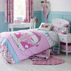 Camper Bedding - Girly
