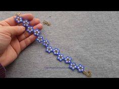 Paper Bead Jewelry, Beaded Jewelry Designs, Handmade Beaded Jewelry, Seed Bead Jewelry, Bead Jewellery, Jewelry Ideas, Beading Jewelry, Jewelry Crafts, Beaded Bracelets Tutorial