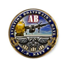 US Navy Enlisted Aviation Boatswains Mate Buckle ABH Blue Shirt ...