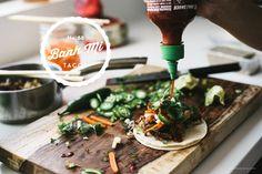 banh mi tacos / i am a food blog