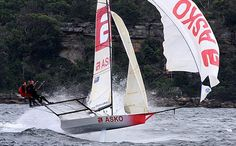 Great 18ft skiff photo from down under