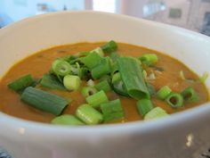 Coconut split pea soup