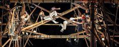 Bamboo Trapeze Act CirkVOST BoO
