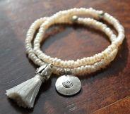 Armbänder mit Frischwasser Perlen