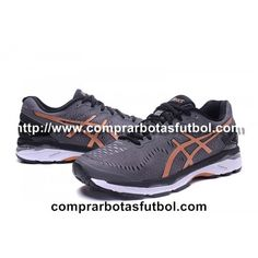 ad3db6340e6cd Fotos Zapatillas De Running Asics Gel Kayano 23 Hombre Gris Dorado