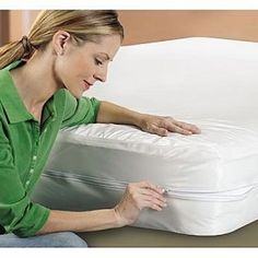 Sentinel Evolon Bed Bug, Dust Mite and Allergen Proof Twin XL Mattress Protector, White Best Crib Mattress, Twin Xl Mattress, Queen Mattress, Mattress Covers, Mattress Protector, Sleep Safe Bed, Twin Box Spring, Baby Necessities, Pillow Protectors