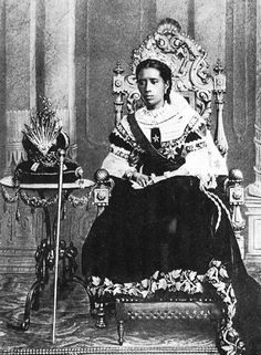 Ranavalona III (November 22, 1861 – May 23, 1917) was the last sovereign of the Kingdom of Madagascar. She ruled from July 30, 1883 to February 28, 1897