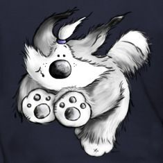 Old English Sheepdog - dog - cute cartoon hoodie