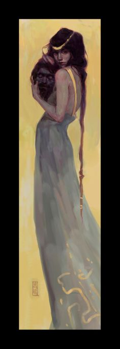 Self Portrait as Salome by Shelly Wan - Gallery Nucleus