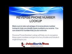 Reverse Phone Number Look Up By Eduardo Pudol Top Mobile Phones, Best Mobile Phone, Reverse Cell Phone Lookup, Spam, Looking Up, Things To Come, Number