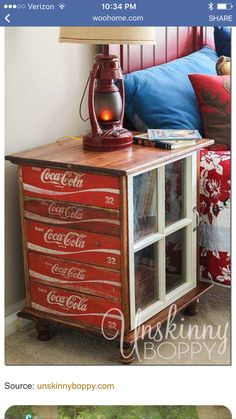 Cola table!