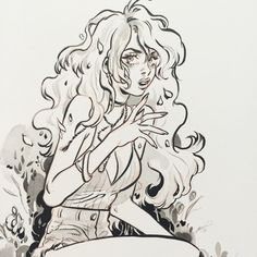 Last one... Thanks Gina for commissioning my girl, Lottie #snotgirl