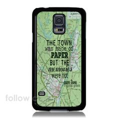 The Paper Town Samsung Galaxy S3 S4 S5 iPhone 4/4S/5/5S/5 iPod Touch 4 5 Case - Cases, Covers & Skins @ http://www.myicover.nl ✿ ✿