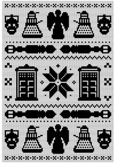 Ravelry: Doctor Who Fair Isle pattern by Amy Schilling